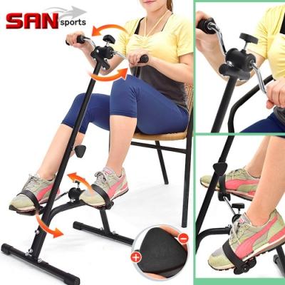 【SAN SPORTS】獨立手足健身車 (兩用手腳訓練機器/臥式美腿機/手轉腳踏車手部腿部腳踏器/室內腳踏車)