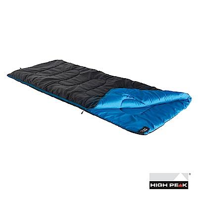 Ceduna 中纖睡袋 全開方型 8~3℃ 黑/藍
