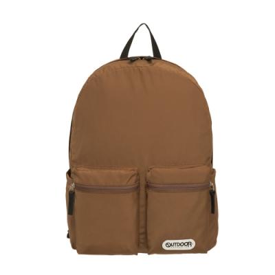 【OUTDOOR】慢活宣言-14吋筆電後背包-棕色 OD201107BN