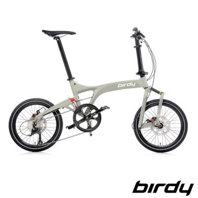 Birdy New BirdyⅢ Standard Disc 9SP 9速碟煞前後避震折疊車-消光石板灰