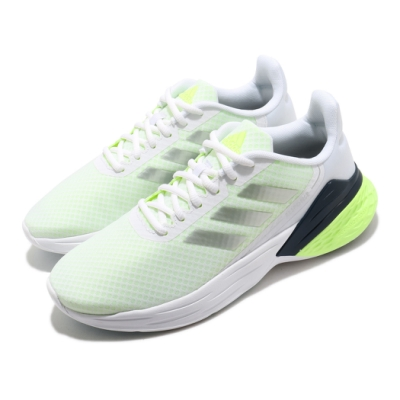 adidas 慢跑鞋 Response SR 運動休閒 女鞋 愛迪達 路跑 緩震 透氣 輕量 基本款 白 綠 FY9157