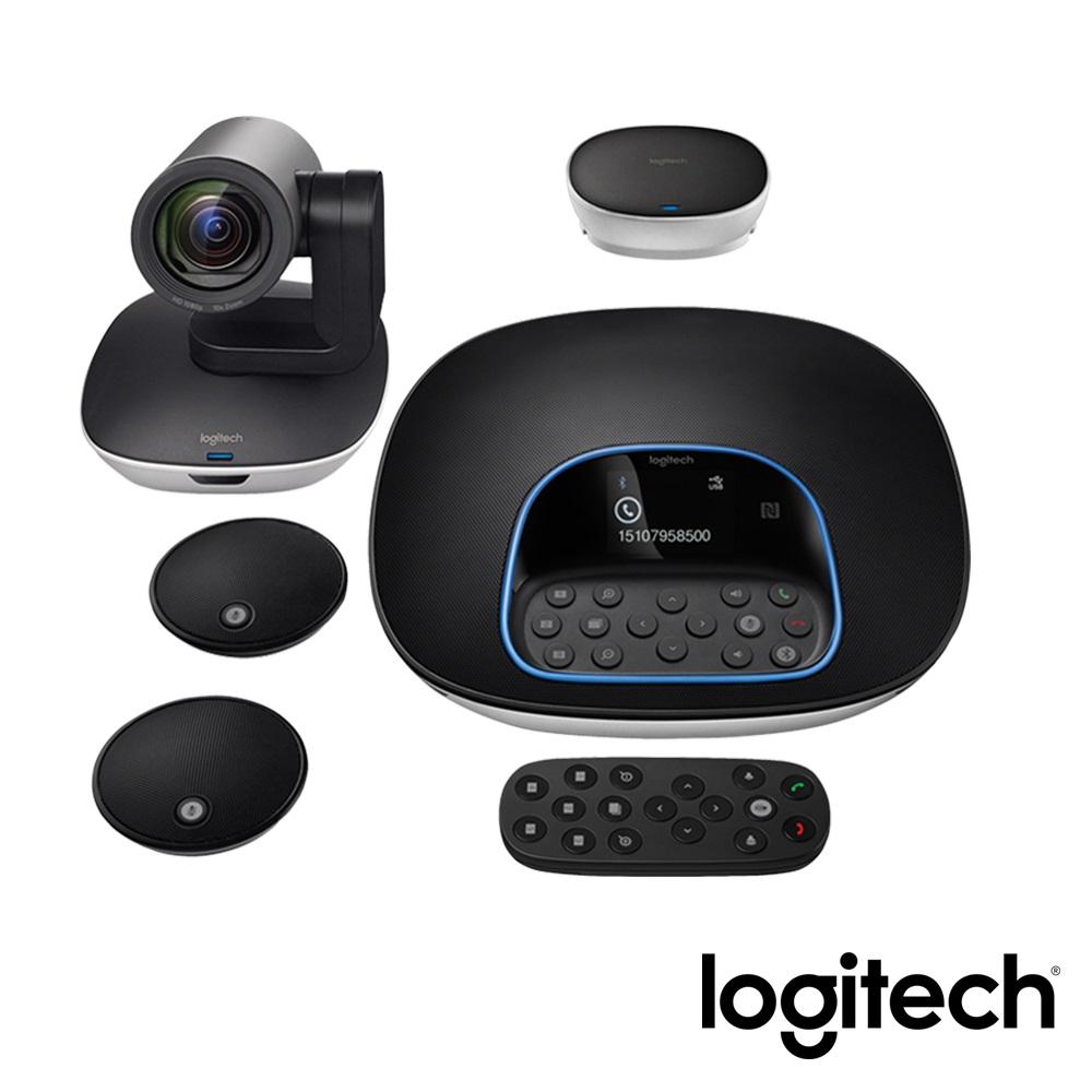 羅技 Logitech Conference cam Group 視訊會議系統