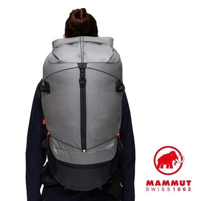 【Mammut 長毛象】Ducan Spine 50-60 輕量健行後背包 花崗岩灰 女款 #2530-00380