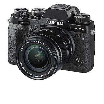 FUJIFILM X-T 2   18 - 55 mm 變焦鏡組 (中文平輸)