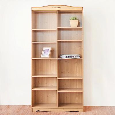 《HOPMA》DIY巧收鄉村十二格書櫃