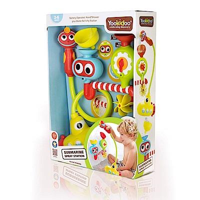 Yookidoo 以色列 洗澡/ 戲水玩具 - 大眼瀑布蓮蓬頭套組