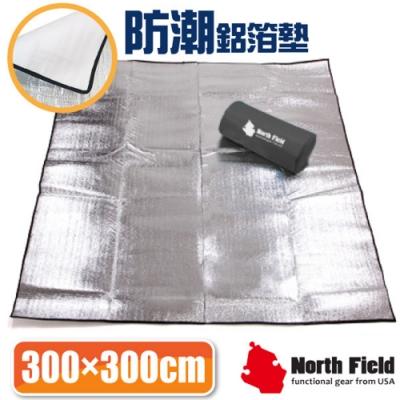 North Field 2mm雙層加強隔絕6-8人汽車露營帳蓬鋁箔睡墊(300x300).野餐地墊.爬行墊