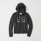 麋鹿 AF 限定款經典刺繡標誌連帽外套(女)-深灰色