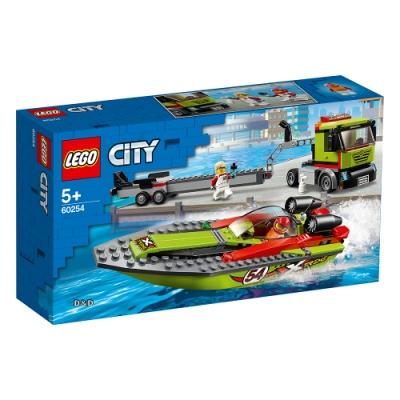 樂高LEGO 城市系列 - LT60254 賽艇運輸車