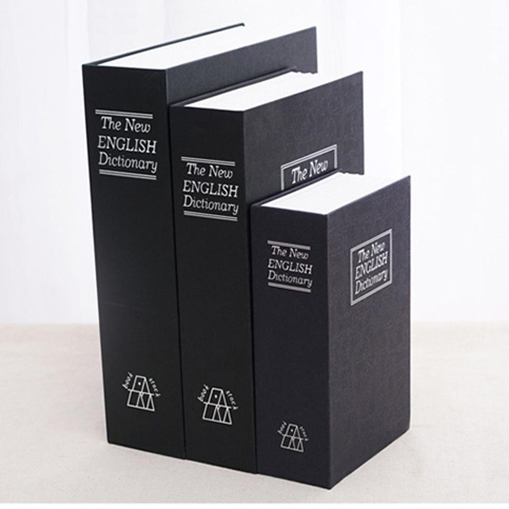 AE003 書本保險箱 密碼款 大號 英文字典 現金箱現金櫃/保險櫃