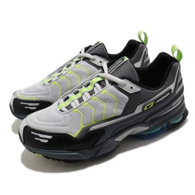 Reebok 慢跑鞋 DMX6 MMI 運動 男鞋 海外限定 基本款 舒適 避震 反光 黑 灰 DV9080