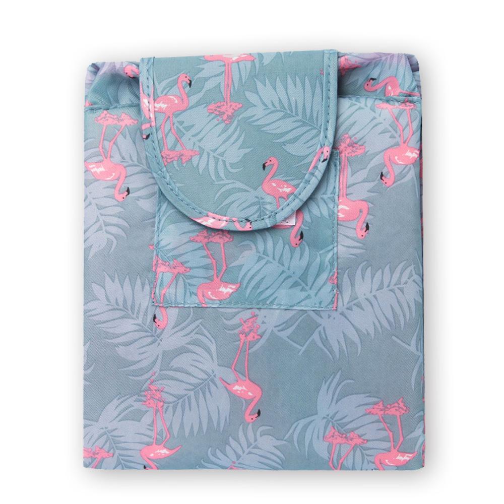 旅遊首選 懶人收納袋 大容量 抽繩 化妝包 束口袋 收納包 洗漱包(紅鶴)