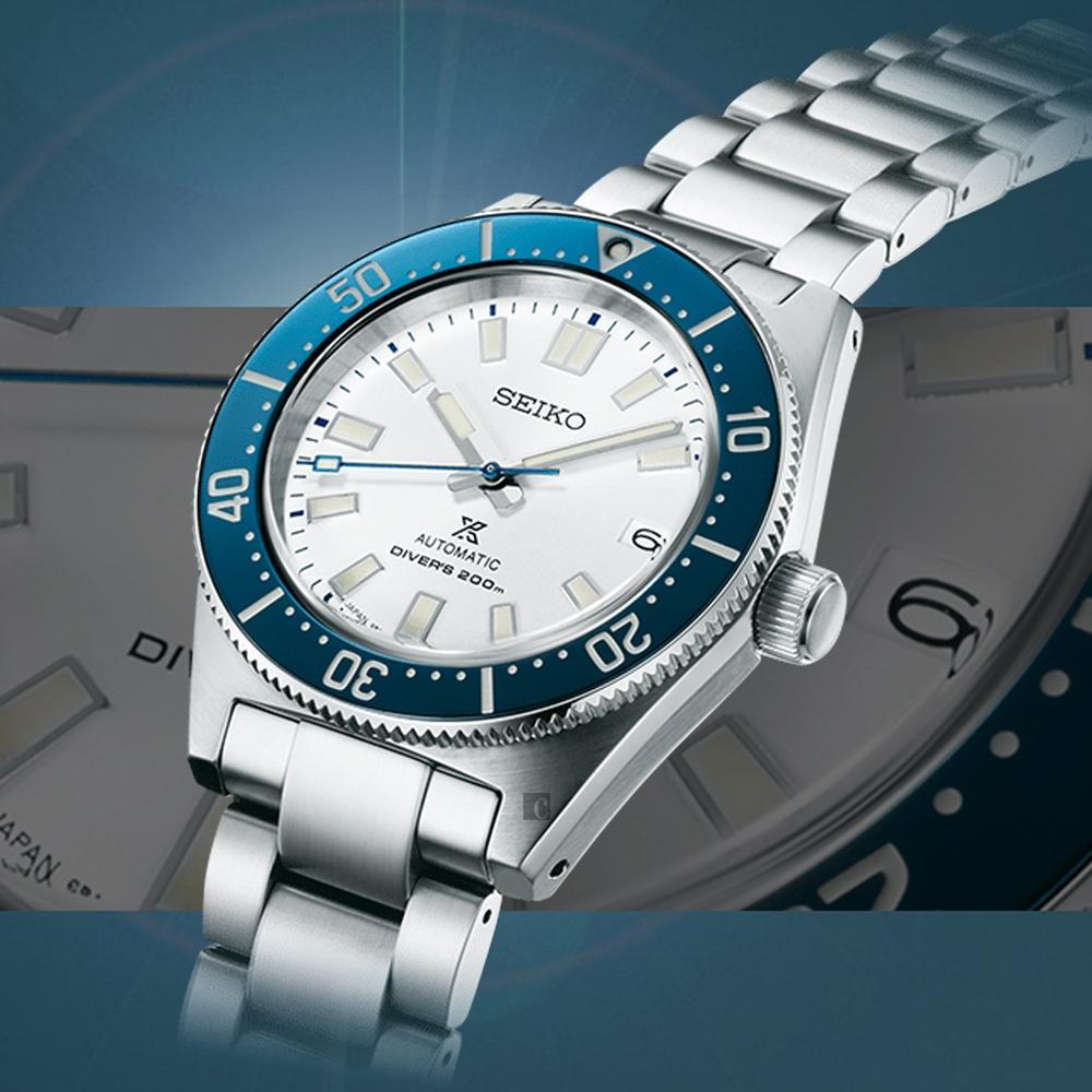SEIKO精工 Prospex 140週年 限量潛水機械錶(SPB213J1/6R35-01R0S)-40.5mm