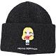 Chiara Ferragni @cfmascotte IG女孩粗針織銀蔥混紡羊毛帽(黑色) product thumbnail 1