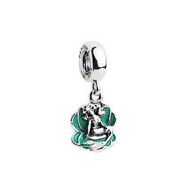Pandora-Disney聯名-綠塘瓷美人魚墜