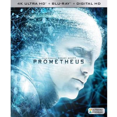 普羅米修斯 4K UHD + BD 雙碟版