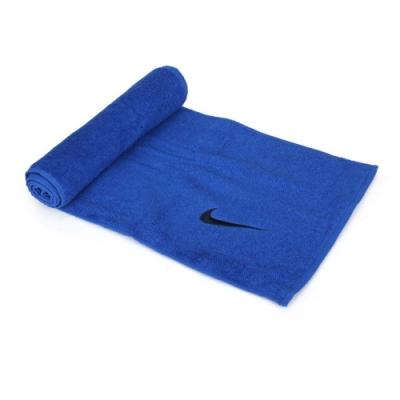NIKE SOLID CORE長型毛巾 藍黑