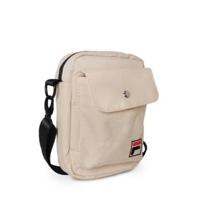 Fila 斜背包 Crossbody Shoulder Bag 斐樂 外出 小包 穿搭 背帶可調 輕便 卡其 黑 BMV3014KK