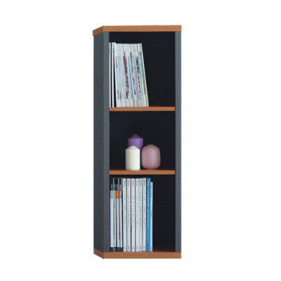 【綠活居】赫爾 現代1尺三格收納櫃-31.4x29.5x93.6cm免組