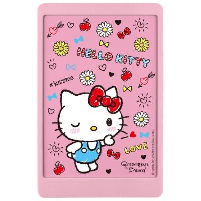 Green Board 三麗鷗 Hello Kitty 凱蒂貓 10吋局部清除電紙板