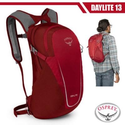 OSPREY Daylite 13L 超輕多功能隨身背包/攻頂包_真誠紅 R