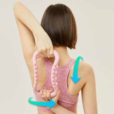 開背伸展按摩瑜伽環