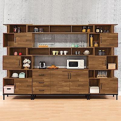 時尚屋  伊萊10.3尺餐櫃組 寬309.3x深40x高196cm