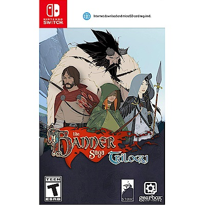 旗幟的傳說 三部曲 Banner Saga Trilogy-NS Switch 英日文美版