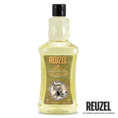 REUZEL Tea Tree 三合一茶樹全能全身洗潤保濕髮浴 1000ml