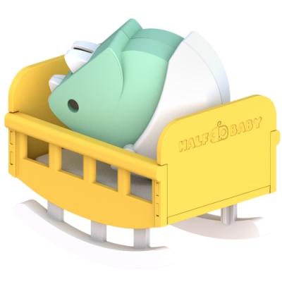 【HALFTOYS 哈福玩具】三角龍寶寶(TRICERA BABY)STEAM教育玩具