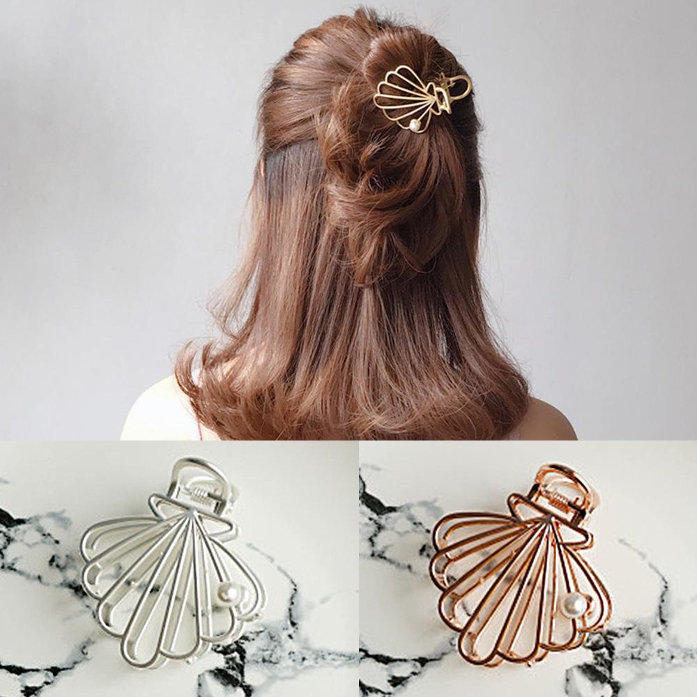 梨花HaNA 日本人魚公主童話貝殼珍珠髮型抓夾 @ Y!購物