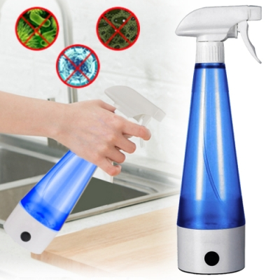 高效版次氯酸水生成器 電解式消毒水噴霧瓶 350ML