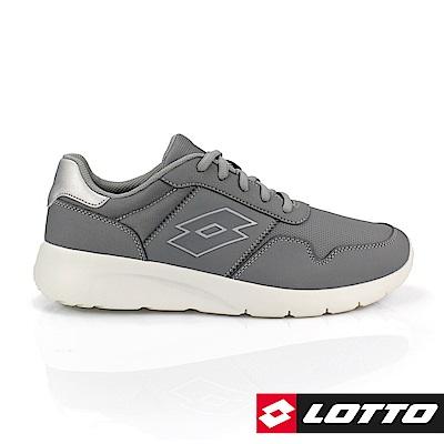 LOTTO 義大利 男 極致輕量跑鞋 (灰)