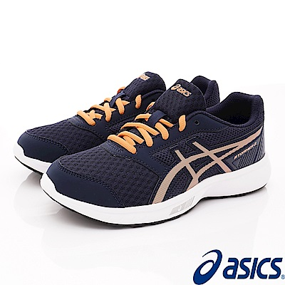 asics競速童鞋 STORMER 2  EI11N-400藍(大童段)