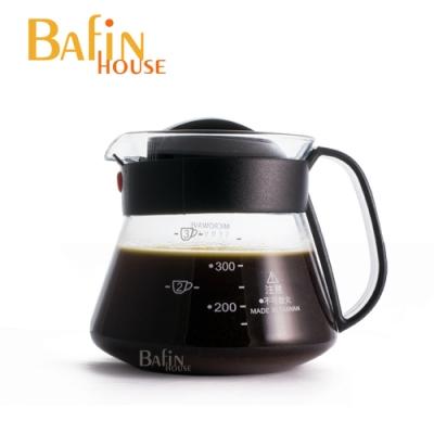 【Bafin House】台玻 syg 耐熱咖啡壺360ml (塑膠把手)