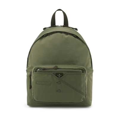 PORTER - 紳士品味CUFF(N)型格機能後背包 - 綠