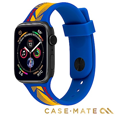 美國CASE●MATE x Kodak聯名款 AppleWatch 38/40mm錶帶-藍