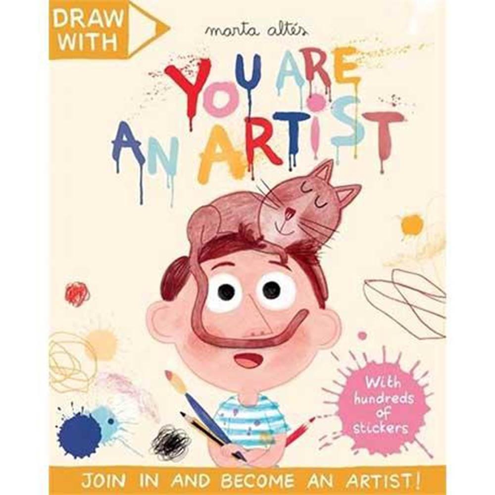 Draw With:You Are An Artist! 你是大藝術家貼紙著色活動本