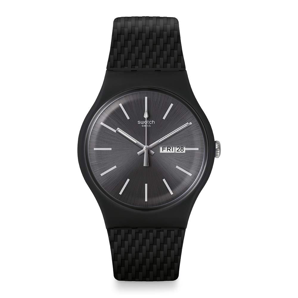 Swatch Bau 包浩斯系列手錶 BRICAGRIS 結構灰 -41mm