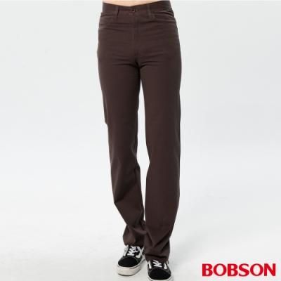 BOBSON 男款雙向伸縮直筒褲
