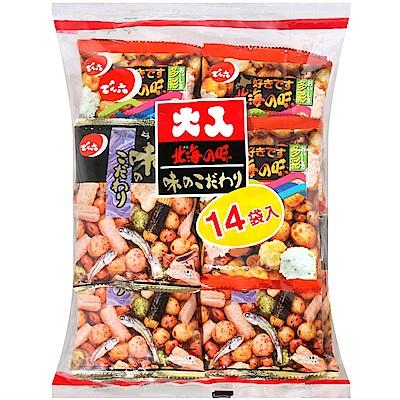 天六 二色綜合14袋入大包裝豆果子(341.6g)