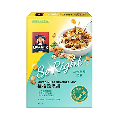 桂格穀添樂 綜合堅果脆穀(300g)