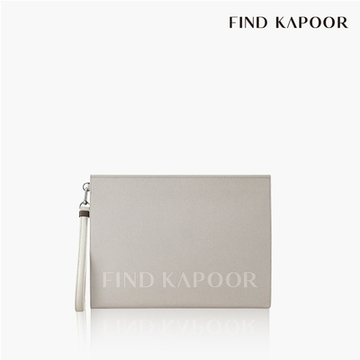 【FIND KAPOOR】CLUTCH 32 字母系列手拿包- 奶油色