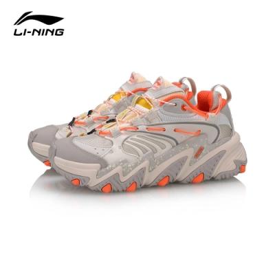 LI-NING 李寧 X-Claw貓爪 時尚潮流休閒鞋 女 珍珠白銀灰(AGLQ014-3)
