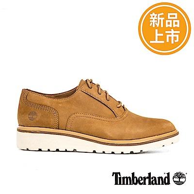 Timberland 女款小麥黃磨砂革Ellis Street休閒鞋