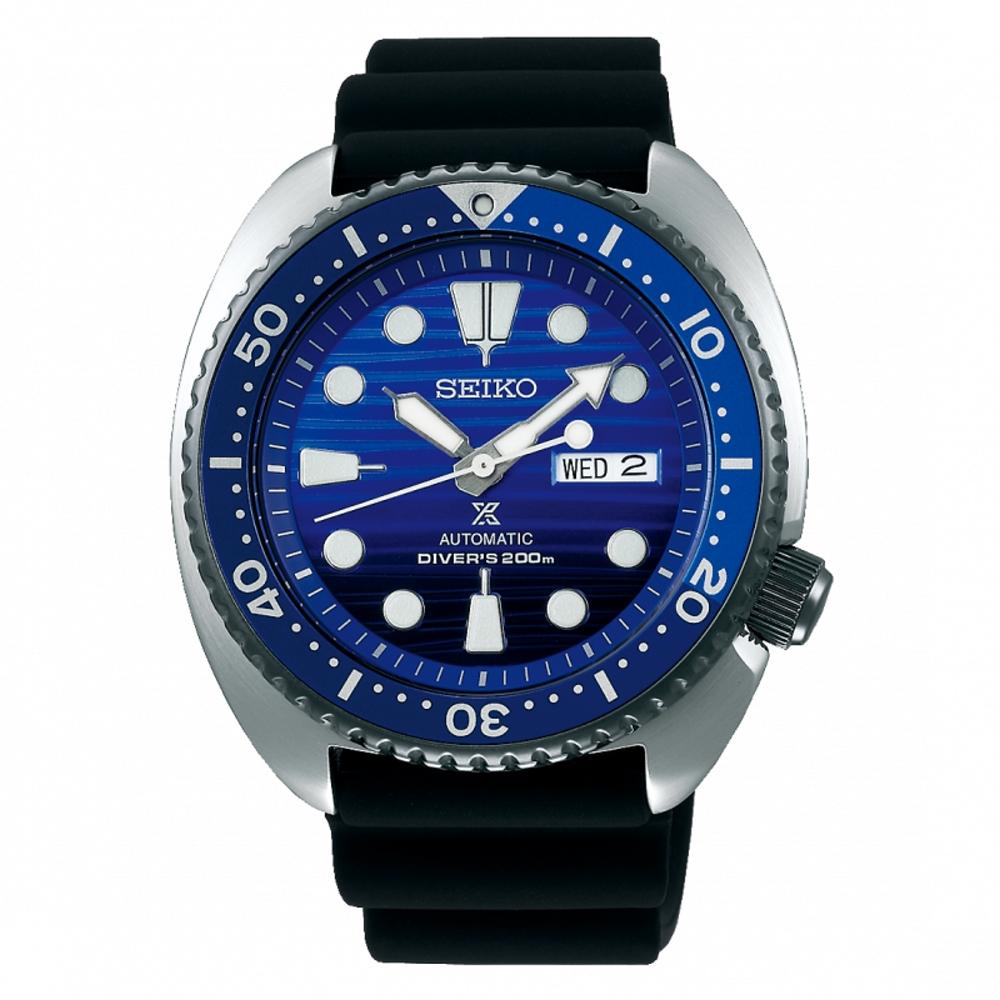 SEIKO精工PROSPEX愛海洋潛水矽膠錶帶機械錶SRPC91J1/4R36-05H0A