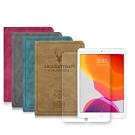 2019 iPad 10.2吋 北歐鹿紋風格平板皮套+9H鋼化玻璃貼(合購價)