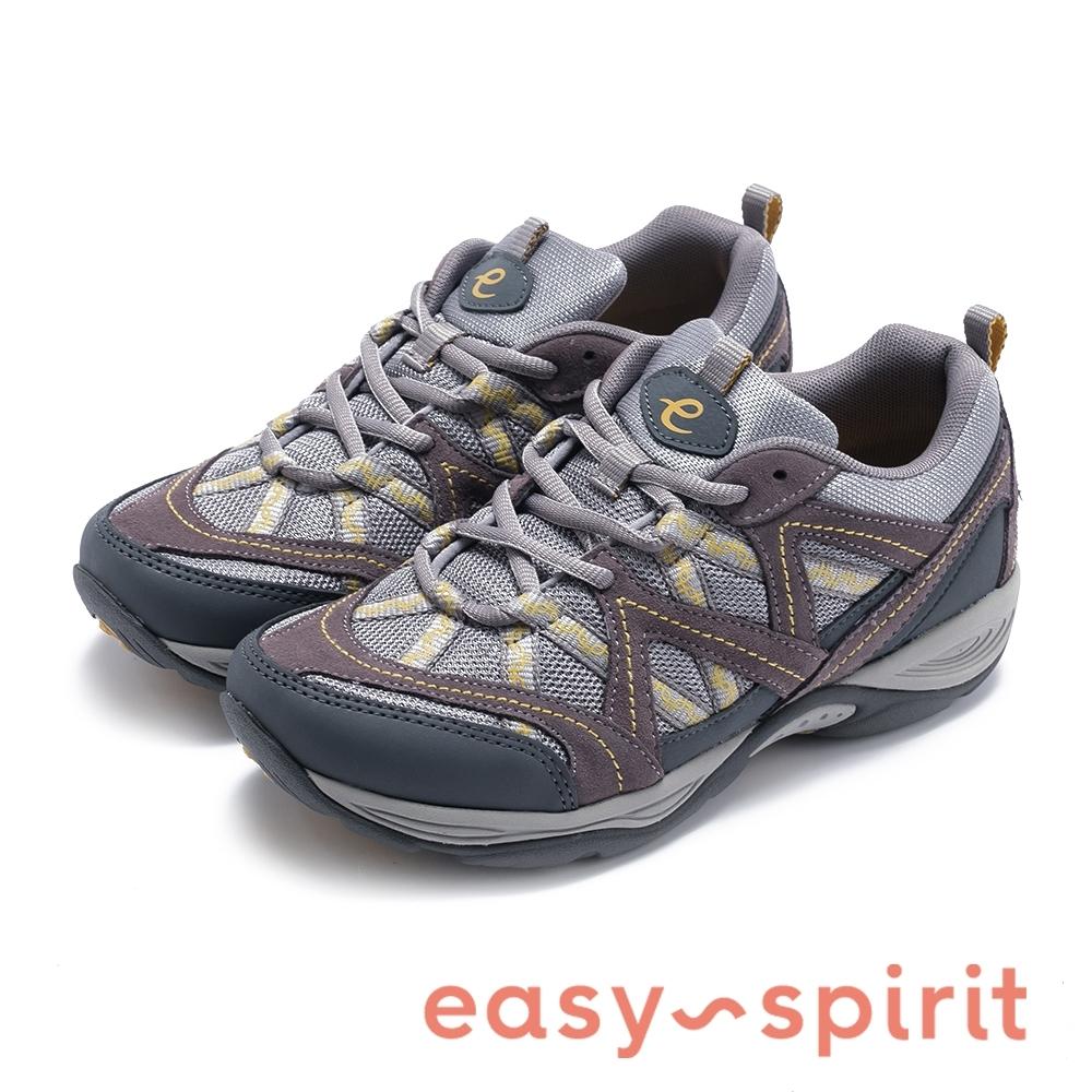 Easy Spirit EXPLOREMAP 機能款輕量彈力休閒鞋-灰色