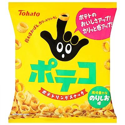 東鳩 手指圈圈餅-海苔鹽味(79g)