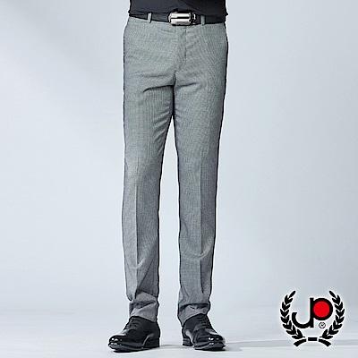 極品西服 精選設計彈力提花平面西褲_黑白(BW752-5)